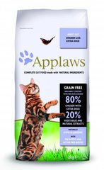 Applaws Dry Cat su vištiena ir antiena, 7,5 kg