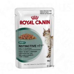 Royal Canin Instinctive +7 Pouch 12 x 85 g
