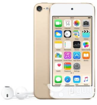 Apple iPod Touch 16GB 6th gen, Auksinė