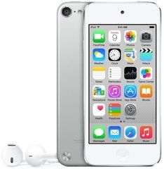 Apple iPod Touch 32GB 6th gen, Sidabrinė