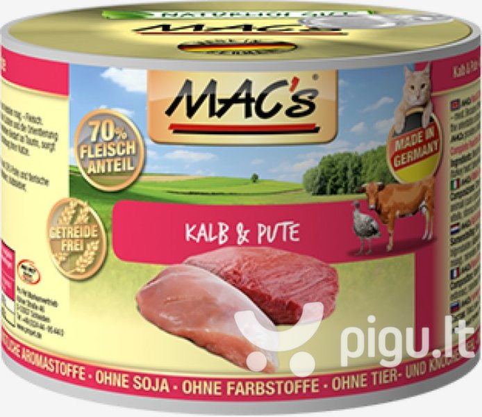 Mac's Veal & Turkey 400 g
