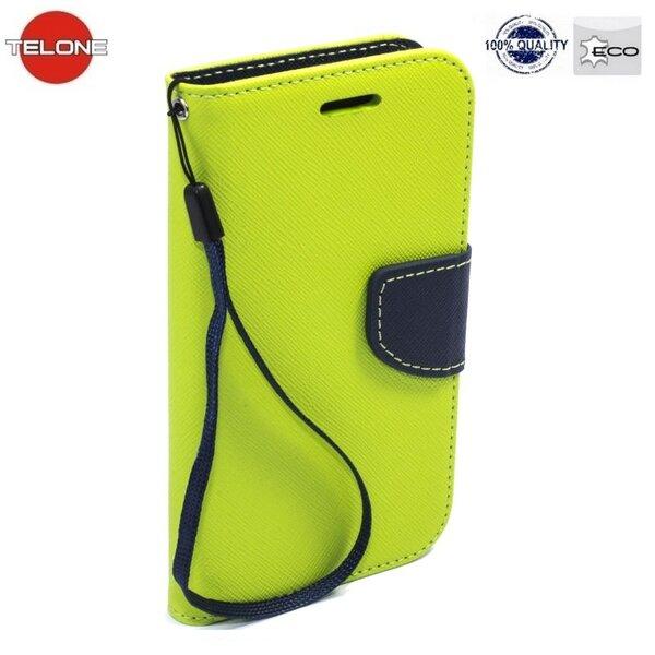 Atverčiamas dėklas Telone Fancy Diary Bookstand skirtas HTC Desire 820, Žalia
