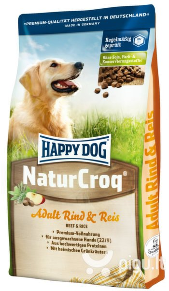 Happy Dog NaturCroq Beef and Rice, 4 kg