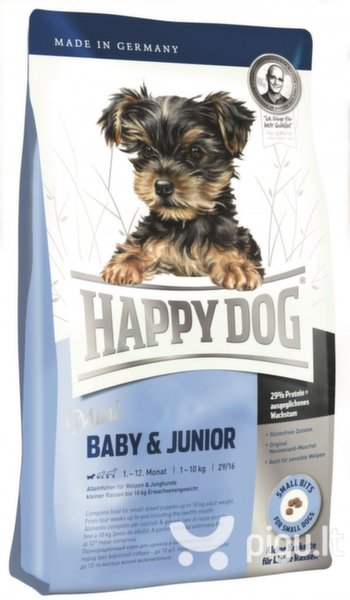 Happy Dog Mini Baby & Junior, 4 kg