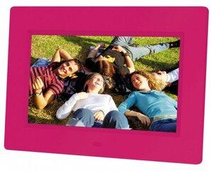 Braun DigiFrame 709, Rožinė kaina ir informacija | Skaitmeniniai nuotraukų rėmeliai | pigu.lt