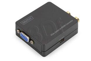ASSMANN - Konwerter sygnału VGA do HDMI z audio, 2xRCA
