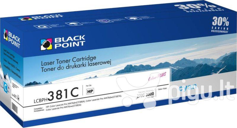 Toner Black Point LCBPH381C | cyan | 3000 pp | HP CF381A