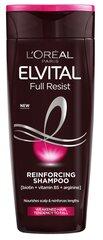 Šampūnas silpniems plaukams L'Oreal Paris Elvital Arginine Resist x3 250 ml kaina ir informacija | Šampūnai | pigu.lt