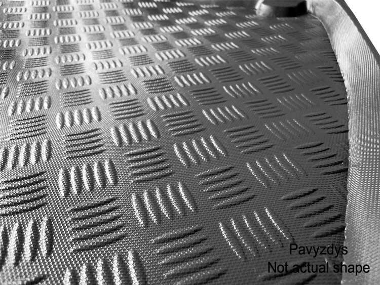 Bagažinės kilimėlis Skoda Octavia III Combi/Wagon 2013-> / 28019