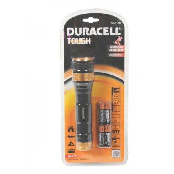 3 LED žibintuvėlis Duracell, 3W