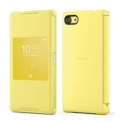 SONY STYLE COVER WINDOW SCR44 DO Z5 COMPACT YELLOW