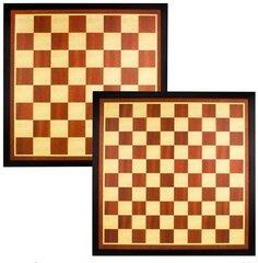 Šachmatų ir šaškių lenta Abbey game 49CF Ryški ruda