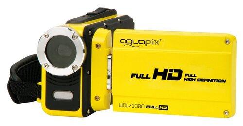 EasyPix WDV1080 Full HD Lagoon, Geltona kaina ir informacija | Vaizdo kameros | pigu.lt