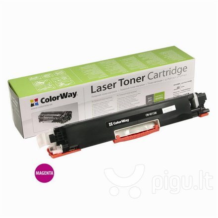 ColorWay toner cartridge for HP CE313A (126M); Canon 729M