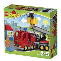 10592 LEGO® DUPLO Ugniagesių automobilis kaina ir informacija | Konstruktoriai ir kaladėlės | pigu.lt