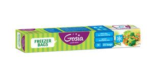 """Maišeliai produktų šaldymui """"GOSIA"""", 25vnt."""