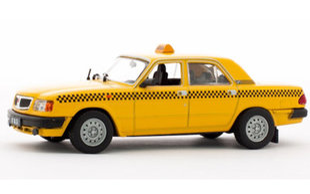 Automobilio modeliukas Gaz 3110 Volga Taxi kaina ir informacija | Žaislai berniukams | pigu.lt