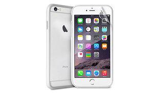 Apsauginis dėklas PURO BUMPER skirtas iPhone 6 Plus, Balta