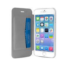 Apsauginis dėklas PURO skirtas iPhone 6 Plus, Permatoma nugarėlė/Sidabrinis