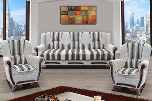 Minkštų baldų komplektas Eryk kaina ir informacija   Sofos, foteliai ir minkšti kampai   pigu.lt