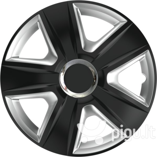 Ratų gaubtai Esprit RC Black&Silver