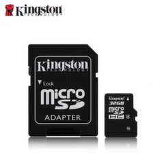 Kingston microSDHC 32GB, 4-tos klasės + SD adapteris