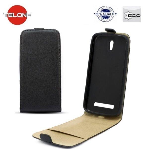 Telone Shine Pocket Slim Flip Case Nokia 625 Lumia vertical book case Black