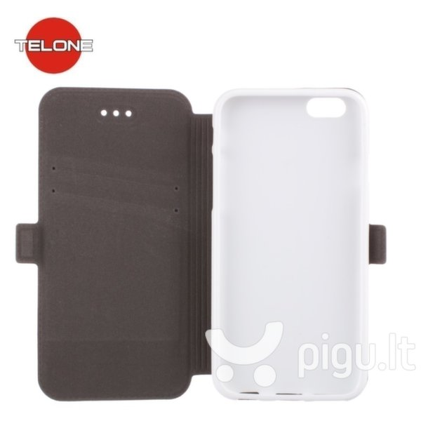 Telone Super Slim Shine Book Case with stand LG D802 G2 White