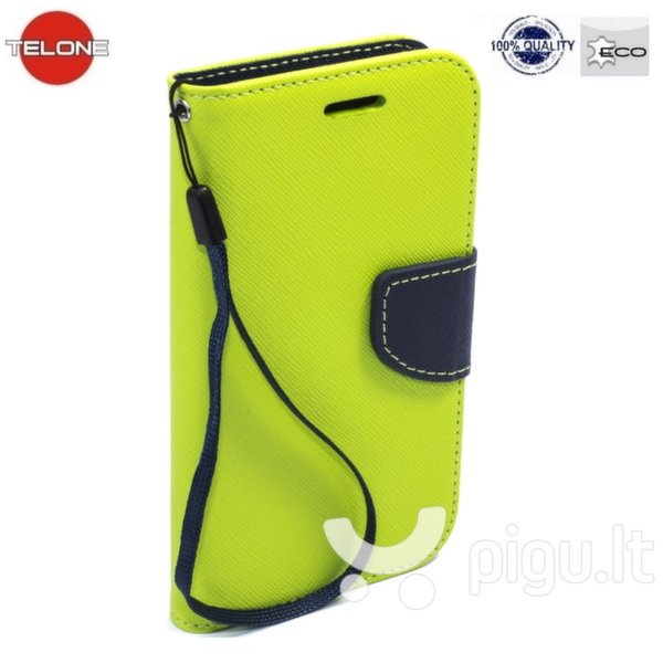 Telone Fancy Diary Bookstand Case LG G4c Mini H525N Light Green/Blue