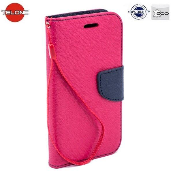 Telone Fancy Diary Bookstand Case Samsung A800 Galaxy A8 Pink/Blue