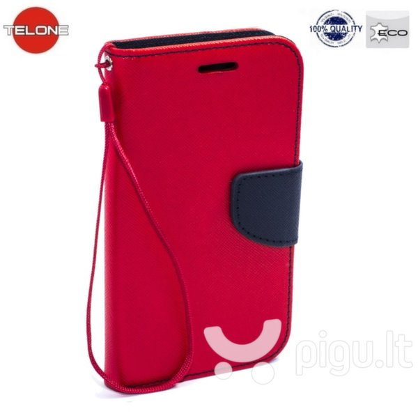 Telone Fancy Diary Bookstand Case Huawei Ascend G620S Red/Blue