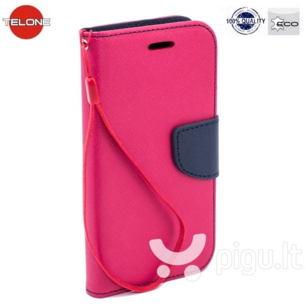 Telone Fancy Diary Bookstand Case LG G4 Stylus H635 Pink/Blue