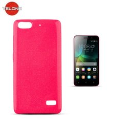 Telone Candy Ultra Slim 0.3mm Shine Jelly Back Case Huawei Honor 4C Pink kaina ir informacija | Telefono dėklai | pigu.lt