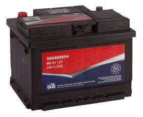 Akumuliatorius AD 60Ah 540A kaina ir informacija | Akumuliatoriai | pigu.lt