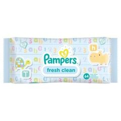 Салфетки PAMPERS Fresh Clean, 64 шт.