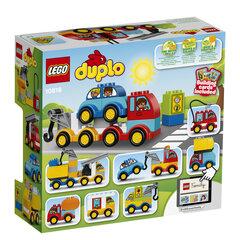 Konstruktorius LEGO® DUPLO Mano pirmieji automobiliai ir sunkvežimiai 10816 kaina ir informacija | Konstruktoriai ir kaladėlės | pigu.lt