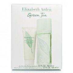 Rinkinys Elizabeth Arden Green Tea: EDP moterims 100 ml + kūno losjonas 100 ml