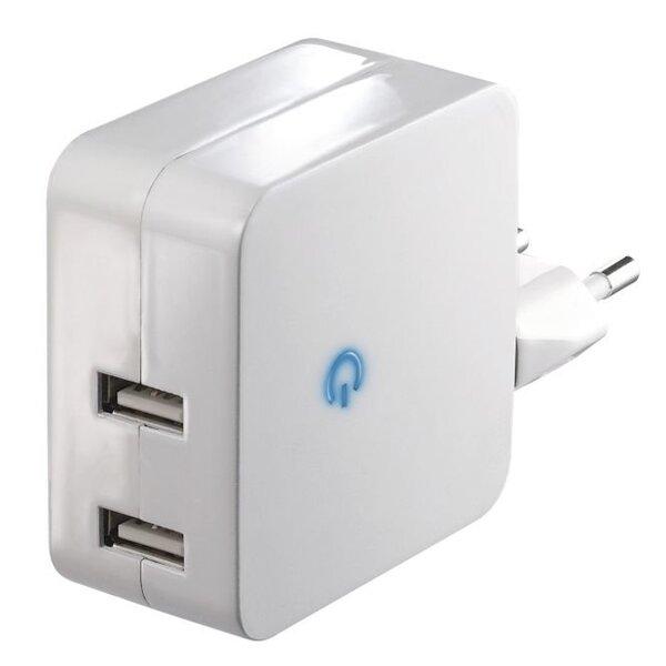 EMOS įkroviklis mobiliesiems įrenginiams 2 USB, 4.2A