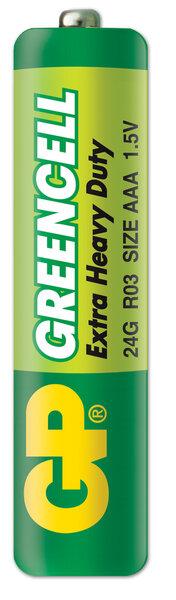 GP Greencell elementai R03 (AAA)