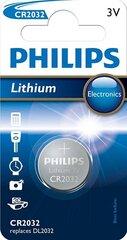 PHILIPS Lithium CR2032 elementas kaina ir informacija | Philips Santechnika, remontas, šildymas | pigu.lt