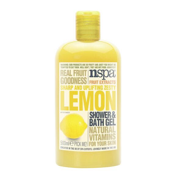 Citrinų aromato dušo želė NSPA 500 ml