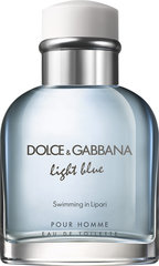 Tualetinis vanduo Dolce & Gabbana Light Blue Swimming in Lipari EDT vyrams 125 ml