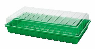 Šiltnaminė daigykla, 54x28x12cm kaina ir informacija | Vazonėliai daiginimui ir persodinimui | pigu.lt
