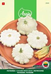 Patisonai /Patisson/ Custard White Bush, ASEJA, 2g, 29640( 3 ) kaina ir informacija | Daržovių, uogų sėklos | pigu.lt