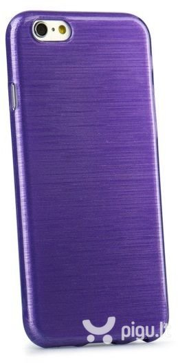 Apsauginis dėklas Forcell Jelly Brush Pearl skirtas Samsung Galaxy A5 (A500), Violetinis