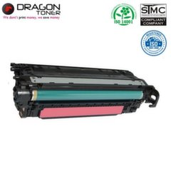 Dragon HP 646A CF033A Magenta Laser Cartridge for CM4540 CM4540f 12.5K Pages HQ Premium Analog
