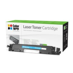 ColorWay toner cartridge (Econom) for HP CE310A (126A); Canon 729BK