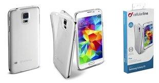 Samsung Galaxy S5 dėklas FINE Cellular permatomas kaina ir informacija | Priedai telefonams | pigu.lt