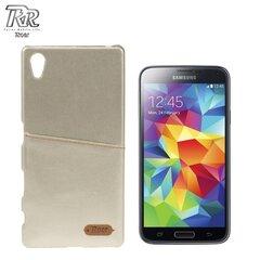 Apsauginis dėklas Roar Noble Skin skirtas Samsung Galaxy S5/S5 Neo (G900/G903), Auksinis kaina ir informacija | Telefono dėklai | pigu.lt