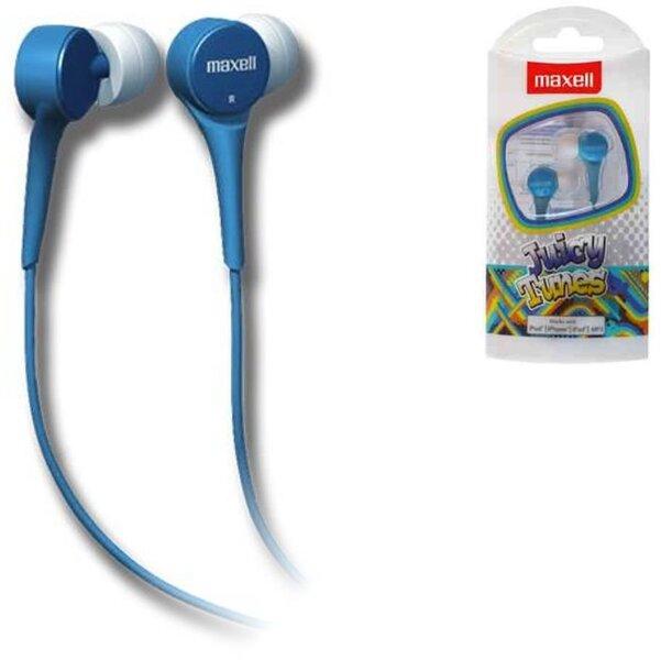 Maxell Juicy Tunes ausinės (mėlynos)